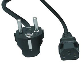 220 / 240 Volt Power Kabel